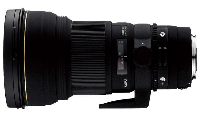НОВЫЙ Sigma 300mm F/2.8 APO DG HSM для Canon
