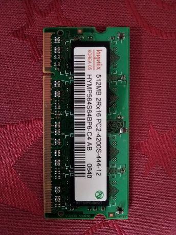 Ddr2 sodimm для ноутбука hynix 512mb
