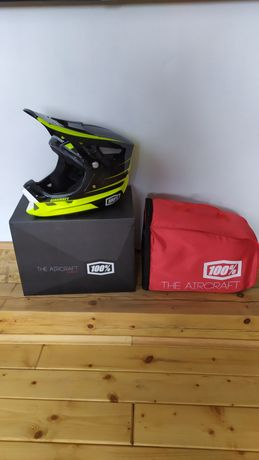 Nowy kask 100% Aircraft Carbon roz L z MIPS , tld , Fox , dh