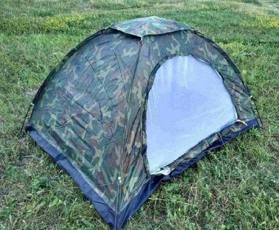 Двомісна туристична палатка 2х1,5м Хакі