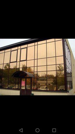 Тонировка солнцезащитной плёнкой окон,балконов,офисов,зданий.