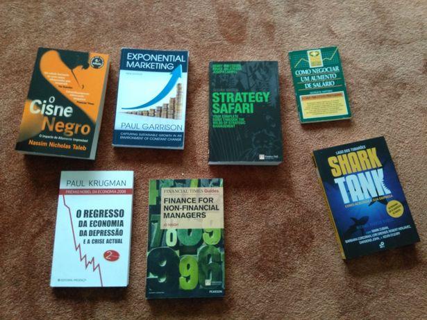 Pack de livros de Gestão e Marketing