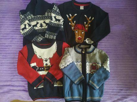 Детские новогодние свитера