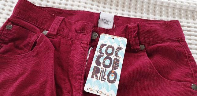 Ciepłe spodnie Cocodrillo dla dziewczynki r.140