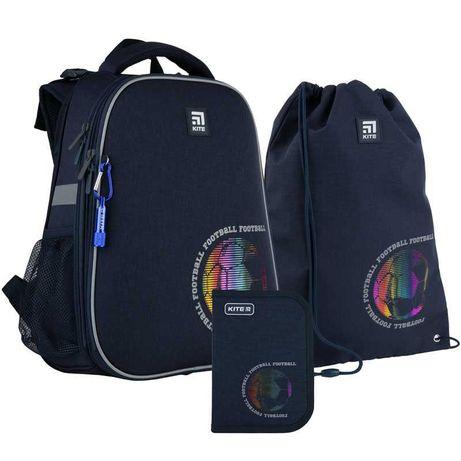 Школьный набор рюкзак + пенал + сумка Kite Football K21-531M-6