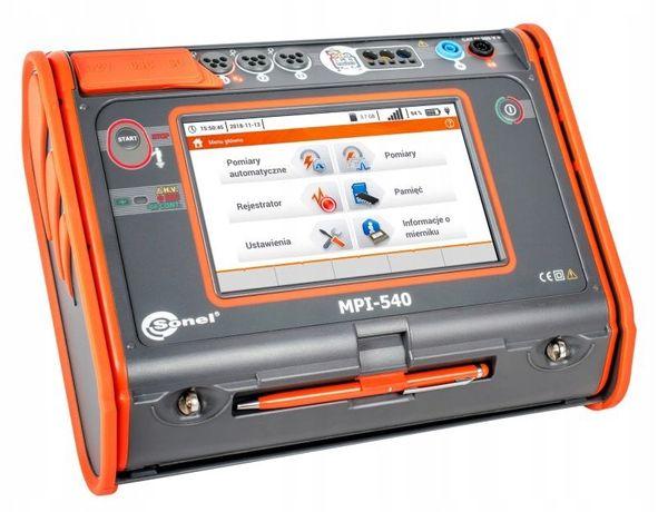 Sonel MPI-540 - Wielofunkcyjny miernik parametrów