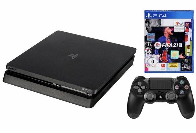 Playstation 4 + Comando + Fifa 21