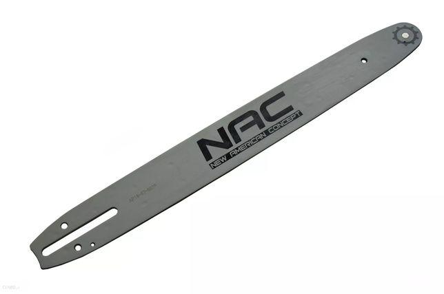 Oryginalna prowadnica piły łańcuchowej marki NAC