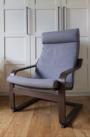 Fotel tapicerowany, bujany IKEA