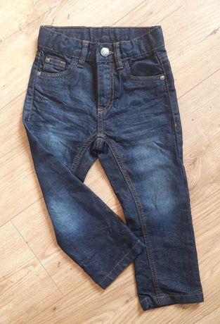 Spodnie, jeansy, chłopięce rozm. 92