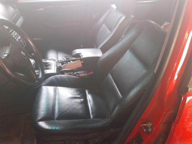 BMW E 46 skurzane grzana