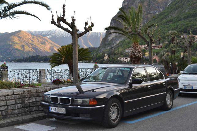BMW E38 740i V8 automat, bezwypadkowy z roku 1995 na sprzedaz
