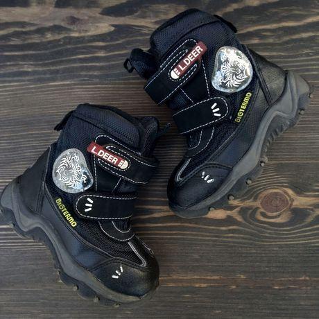 Зимние термо ботинки фирмы B&G, размер 24, по стельке 15 см, сапоги