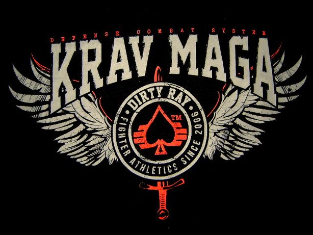 Koszulka Męska T-shirt Rozm. M KRAV MAGA