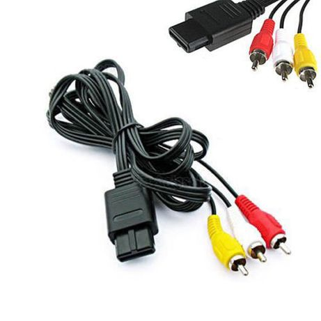Cabo de áudio vídeo consola Nintendo N64