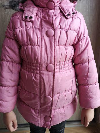 Zimowa kurtka COOL CLUB dla dziewczynki rozmiar 110