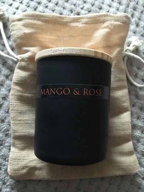 Sattva świeca sojowa Mango i Róża NOWA duża 200ml i 500g też do masażu