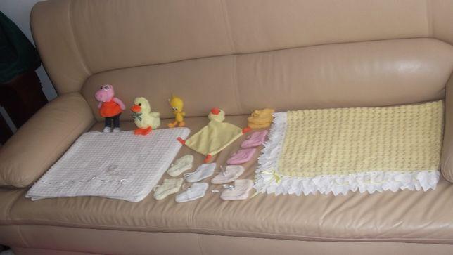 varios artigos de menina bebé