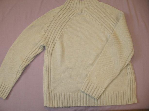 Sweter ekri firmy bonmarche roz l