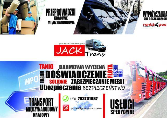 Transport,przeprowadzki przeprowadzka kraj/europa,wynajem plandeka