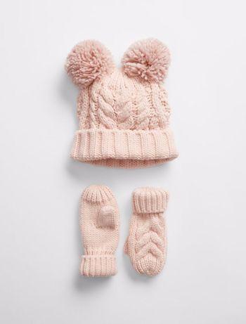 Шапка и рукавички Gap