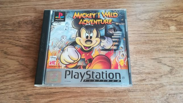 Mickey Mouse Wild Adventure Psx PAL Ang