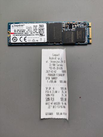 Dysk SSD PCI express 256 GB.
