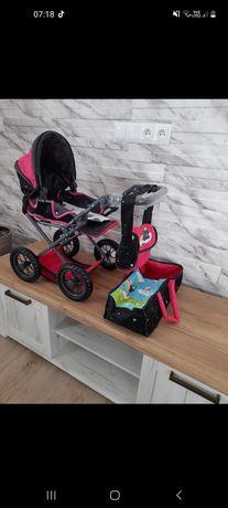 """Wózek dla lalek """"Ruby"""" w stylu """"Theodor Carbon Flash"""" od Knorr Toys"""