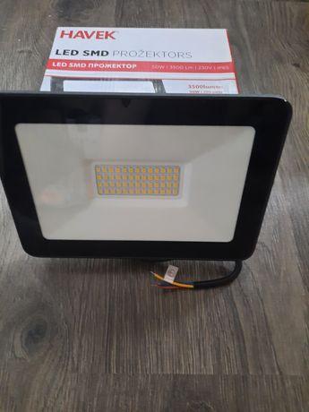 Прожектор NAVEK, LED SMD 50w/3500Lm/230V/ IP 65, Новый ЛАТВИЯ