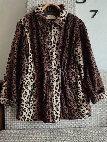 Эффектная куртка, леопардовый принт, Германия.