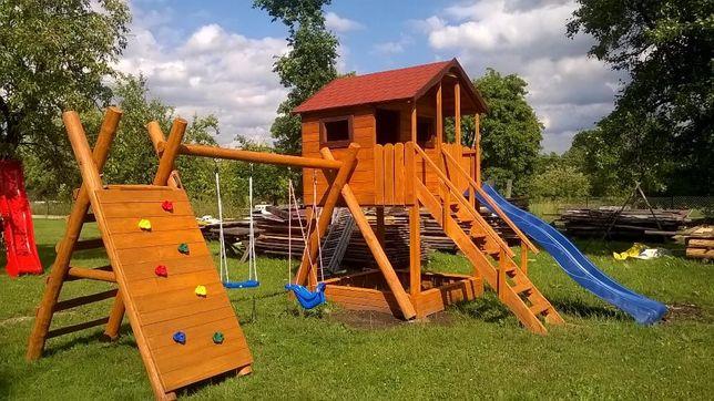Plac zabaw duży domek