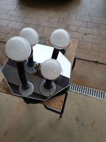 Lampa żyrandol sufitowa lustro