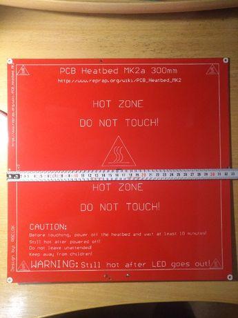 Нагревательный стол для 3D принтера 300x300