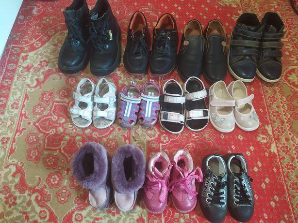Обувь для девочки р мальчика