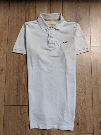 Hollister by Abercrombie Polo męskie koszulka męska unikat logo L XL