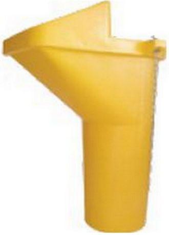Tubo e boca para conduta de entulho de plástico para construção civil