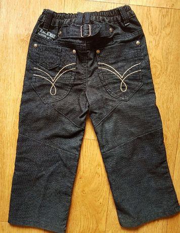 Вельветовые брендовые джинсы denim co