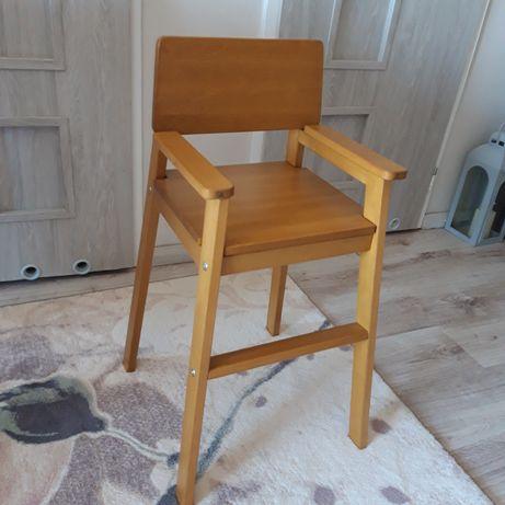 Stołek stołeczek dla dziecka drewniany