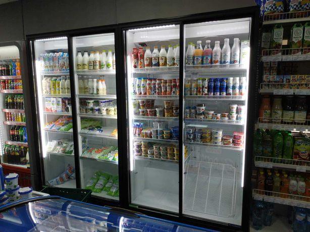 Продам витрины горки шафи холодильні для молочки присте регали холодок