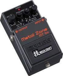 Pedal de dist. Metal Zone MT2W