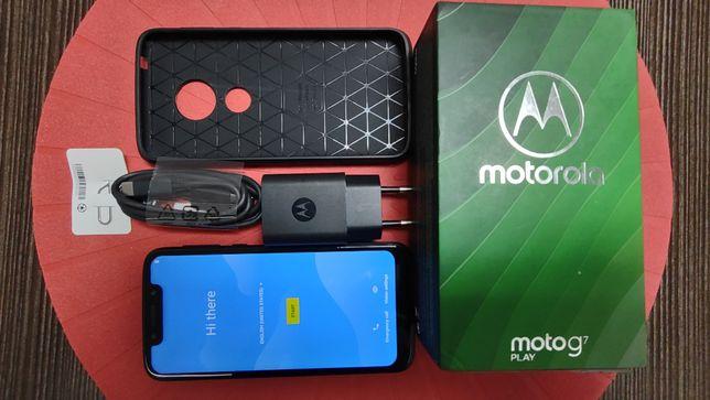 Motorola Moto g7 Play dual SIM - granatowy