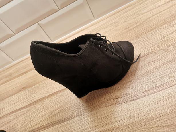 Botki new look czarne