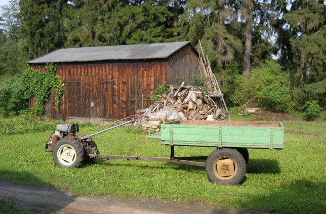 Traktorek ogrodowy Ursus C-308 traktor Dzik c308 ciągnik jednoosiowy