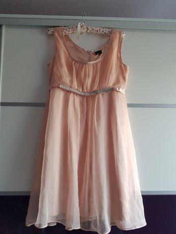 Sukienka weselna wizytowa zwiewna rozm. 38 Gina Tricot