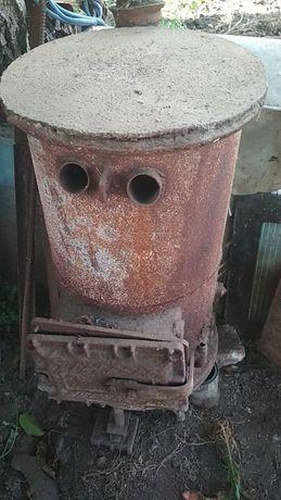 печка самодельная