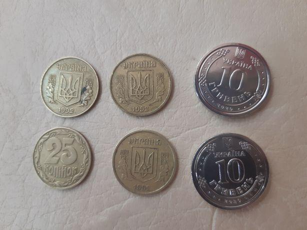 Монета 10 грн 5 грн