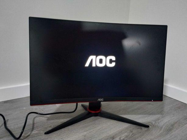 Monitor AOC 24 C24G2AE/BK LED FullHD 165Hz FreeSync (CURVO)
