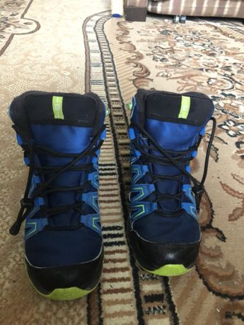 Сапоги ботинки зимние Salomon