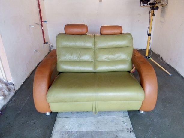 Sofa dwuosobowa rozkładana Funkcja spania zadbana Transport wniesienie