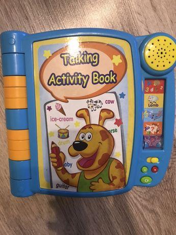 Interaktywna książka angielski nauka dzieci